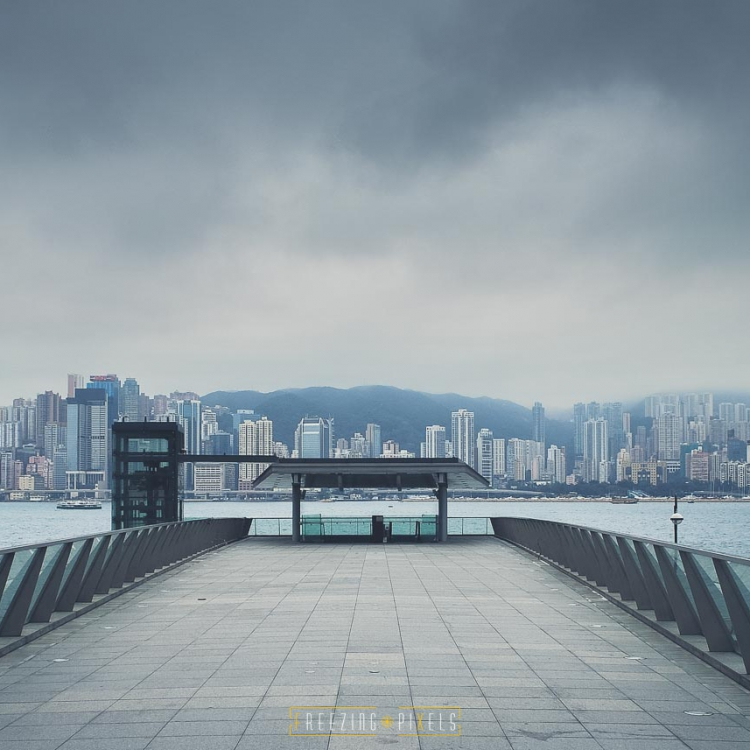 Freezing Pixels - Hong Kong